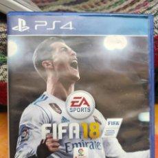 Videojuegos y Consolas PS4: FIFA 18 PS4. Lote 292328288