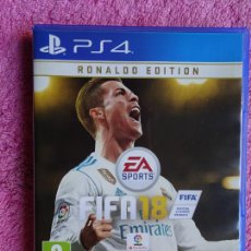 Videojuegos y Consolas PS4: RONALDO EDITION FIFA 18 EL JUEGO DEL MUNDO PS4. Lote 293164768