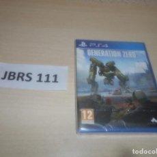 Videojuegos y Consolas PS4: PS4 - GENERATION ZERO , PAL ESPAÑOL , PRECINTADO. Lote 293998013