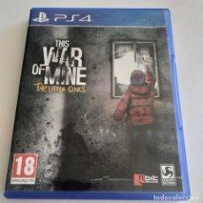 Videojuegos y Consolas PS4: THIS WAR OF MINE PS4. Lote 294022478