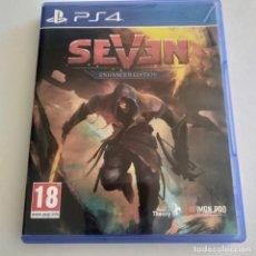 Videojuegos y Consolas PS4: SEVEN PS4. Lote 294024673