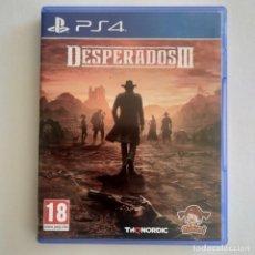 Videojuegos y Consolas PS4: DESPERADOS III PS4. Lote 294027128