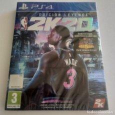 Videojuegos y Consolas PS4: NBA 2K20 EDICIÓN LEYENDA PS4 PRECINTADO. Lote 294027988