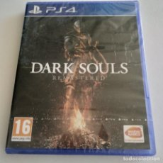 Videojuegos y Consolas PS4: DARK SOULS REMASTERED PS4 PRECINTADO. Lote 294028543