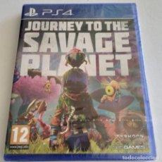 Videojuegos y Consolas PS4: JOURNEY TO THE SAVAGE PLANET PS4 PRECINTADO. Lote 294031313