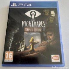 Videojuegos y Consolas PS4: LITTLE NIGHTMARES PS4. Lote 294034423