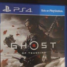 Videojuegos y Consolas PS4: JUEGO PS4 GHOST OF THUSHIMA. Lote 294085063