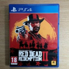 Videojuegos y Consolas PS4: JUEGO RED DEAD REDEMPTION 2 PS4 . SEMINUEVO. Lote 294375753