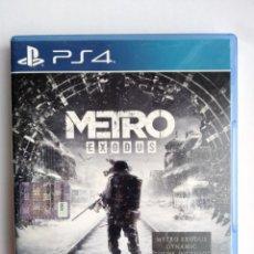 Videojuegos y Consolas PS4: METRO EXODUS PS4. Lote 294450093