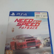 Videojuegos y Consolas PS4: JUEGO NEED FOR SPEED PAYBACK. Lote 294561283