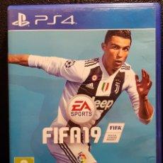 Videojuegos y Consolas PS4: FIFA 19 - PS4 - PLAYSTATION - VIDEOJUEGO - CONSOLA - RONALDO - EXCELENTE - NO USO CORREOS. Lote 295458573