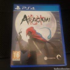 Videojuegos y Consolas PS4: ARAGAMI PS4 PAL ESPAÑA. Lote 295795548