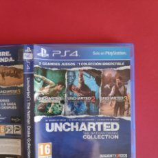 Videojuegos y Consolas PS4: UNCHARTED: THE NATHAN DRAKE COLLECTION PS4. Lote 295802623