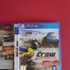 Videojuegos y Consolas PS4: THE CREW WILO RUN EDITION PS4. Lote 295802998
