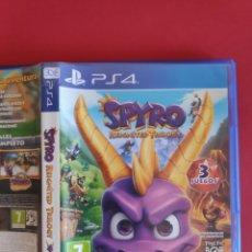 Videojuegos y Consolas PS4: SPYRO: REIGNITED TRILOGY PS4. Lote 295805898