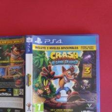 Videojuegos y Consolas PS4: CRASH BANDICOOT: NSANE TRILOGY PS4. Lote 295808428