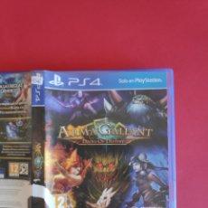 Videojuegos y Consolas PS4: ARMA GALLANT: DECKS OF DESTINY PS4. Lote 295809433