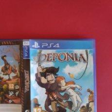 Videojuegos y Consolas PS4: DEPONIA PS4. Lote 295809548