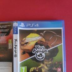 Videojuegos y Consolas PS4: YASAJ NINJA PS4. Lote 295810268