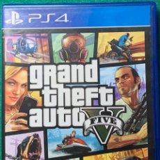 Videojuegos y Consolas PS4: GRAND THEFT AUTO V FIVE PS4. Lote 295869138