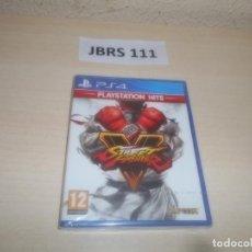 Videojuegos y Consolas PS4: PS4 - STREET FIGHTER V , PAL ESPAÑOL , PRECINTADO. Lote 295934373