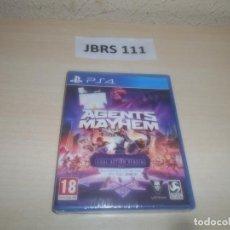 Videojuegos y Consolas PS4: PS4 - AGENTS MAYHEM , PAL ESPAÑOL , PRECINTADO. Lote 295934708
