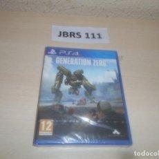 Videojuegos y Consolas PS4: PS4 - GENERATION ZERO , PAL ESPAÑOL , PRECINTADO. Lote 295936548