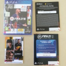 Videojuegos y Consolas PS4: JUEGO PS4 FIFA 2021. Lote 295947998