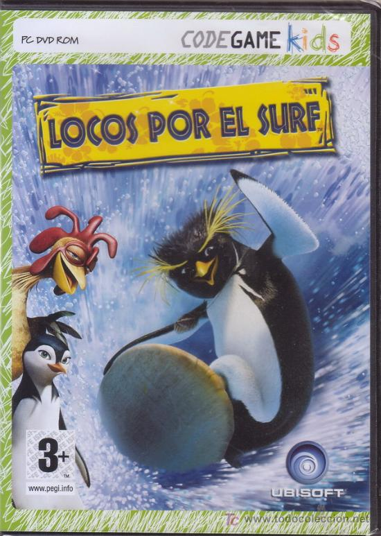 LOCOS POR EL SURF. PC DVD ROM. UBISOFT. JUEGO PARA ORDENADOR. (Juguetes - Videojuegos y Consolas - PC)
