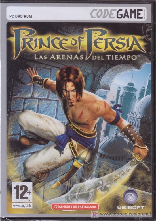 PRINCE OF PERSIA. LAS ARENAS DEL TIEMPO. PC DVD ROM. UBISOFT. JUEGO PARA ORDENADOR. (Juguetes - Videojuegos y Consolas - PC)