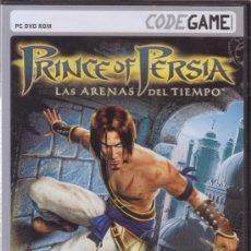 Videojuegos y Consolas: PRINCE OF PERSIA. LAS ARENAS DEL TIEMPO. PC DVD ROM. UBISOFT. JUEGO PARA ORDENADOR.. Lote 26627782
