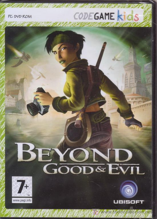 BEYOND GOOD & EVIL. PC DVD ROM. UBISOFT. JUEGO PARA ORDENADOR. (Juguetes - Videojuegos y Consolas - PC)