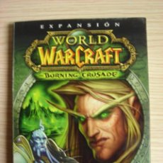 Videojuegos y Consolas: JUEGO PC.CD ROM WORLD OF WARCRAFT THE BURNING CRUSADE BLIZZARD.2002.. Lote 17978144