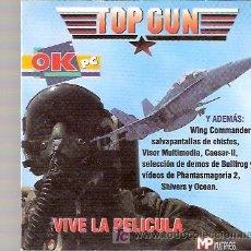 Videojogos e Consolas: PC CD ROM - JUEGO ORDENADOR - TOP GUN. Lote 24526936