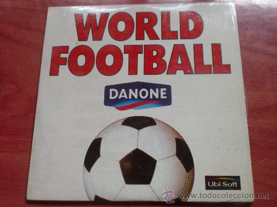 JUEGOS - JUEGO PC - DANONE - WORLD FOOTBALL - DEPORTE - FÚTBOL - MICROSOFT WINDOWS, PLASTIFICADO (Juguetes - Videojuegos y Consolas - PC)