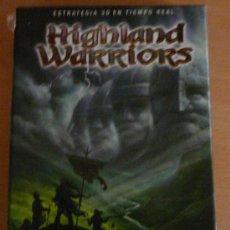 Videojuegos y Consolas: HIGHLAND WARRIORS - JUEGO PC - ESTRATEGIA. Lote 21741257