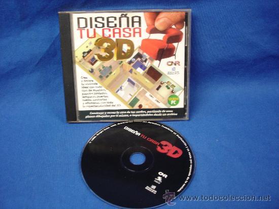 Dise a tu casa 3d cd rom pc comprar videojuegos pc for Disena tu casa online