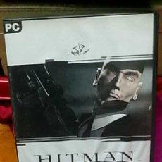 Videojuegos y Consolas: JUEGO PC HITMAN PARA PC. Lote 23686676