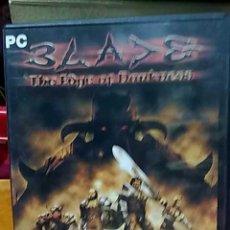 Videojuegos y Consolas: JUEGO PC BLADE PARA PC. Lote 23686692