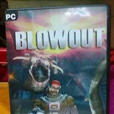 Videojuegos y Consolas: JUEGO PC BLOWOUT PARA PC. Lote 23686716