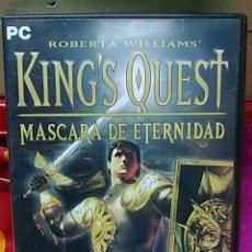 Videojuegos y Consolas: JUEGO PC KING´S QUEST MASCARA DE ETERNIDAD PARA PC. Lote 23686946