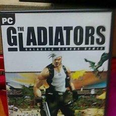 Videojuegos y Consolas: JUEGO PC THE GLADIATORS PARA PC. Lote 23687006
