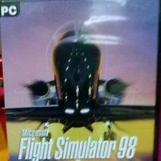 Videojuegos y Consolas: JUEGO PC FLIGHT SIMULATOR 98 PARA PC. Lote 23687130