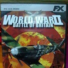 Videojuegos y Consolas: JUEGO PC WORLD WAR II PARA PC. Lote 23687890