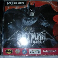 Videojuegos y Consolas: PC CD ROM BATMAN. Lote 24236317