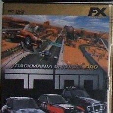 Videojuegos y Consolas: JUEGO P C TRACKMANIA ORIGINAL ORO NUEVO. Lote 26736592