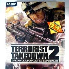 Videojuegos y Consolas: JUEGO P C TERRORIST TAKEDOWN 2 NUEVO. Lote 26943868