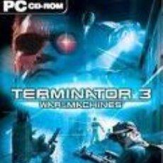 Videojuegos y Consolas: TERMINATOR 3: WAR OF THE MACHINES. JUEGO PC. Lote 26643745