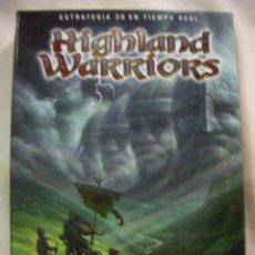 Videojuegos y Consolas: JUEGO DE DOS DISCOS DE ESTRATEGIA EN 3 D HIGHLAND WARRIORS . Lote 28231303