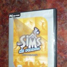 Videojuegos y Consolas: JUEGO PC LOS SIMS DE VACACIONES. Lote 28706789